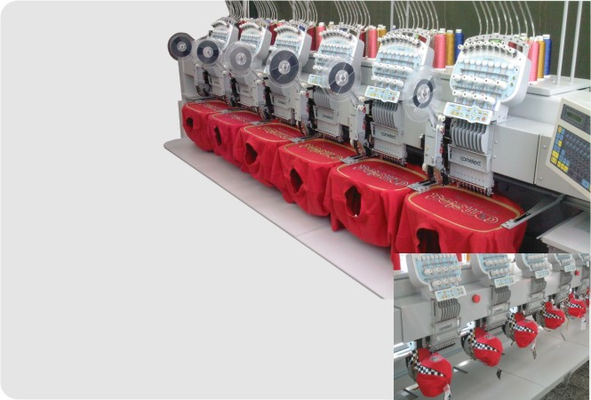 Cylinder type embroidery machine